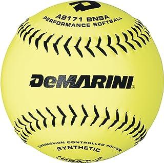 DeMarini 12 英寸 NSA 低投垒球合成皮革垒球。 52/275,12 只装