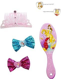 Disney Princess Hair Acessories Set, 8 Count