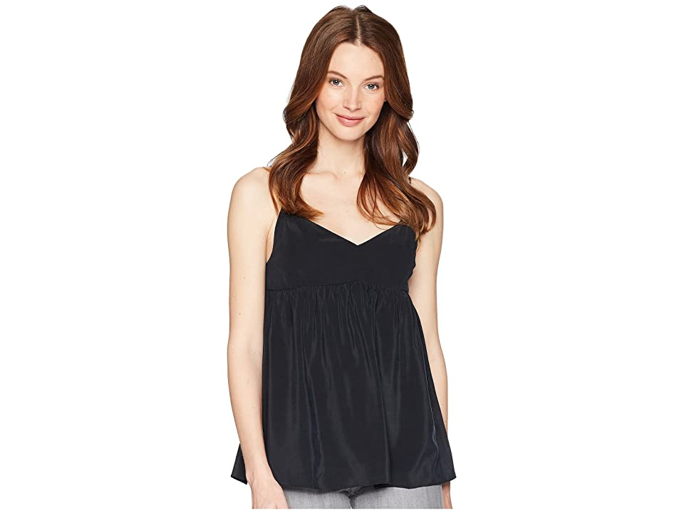 7 For All Mankind Babydoll Camisole (Black) Women