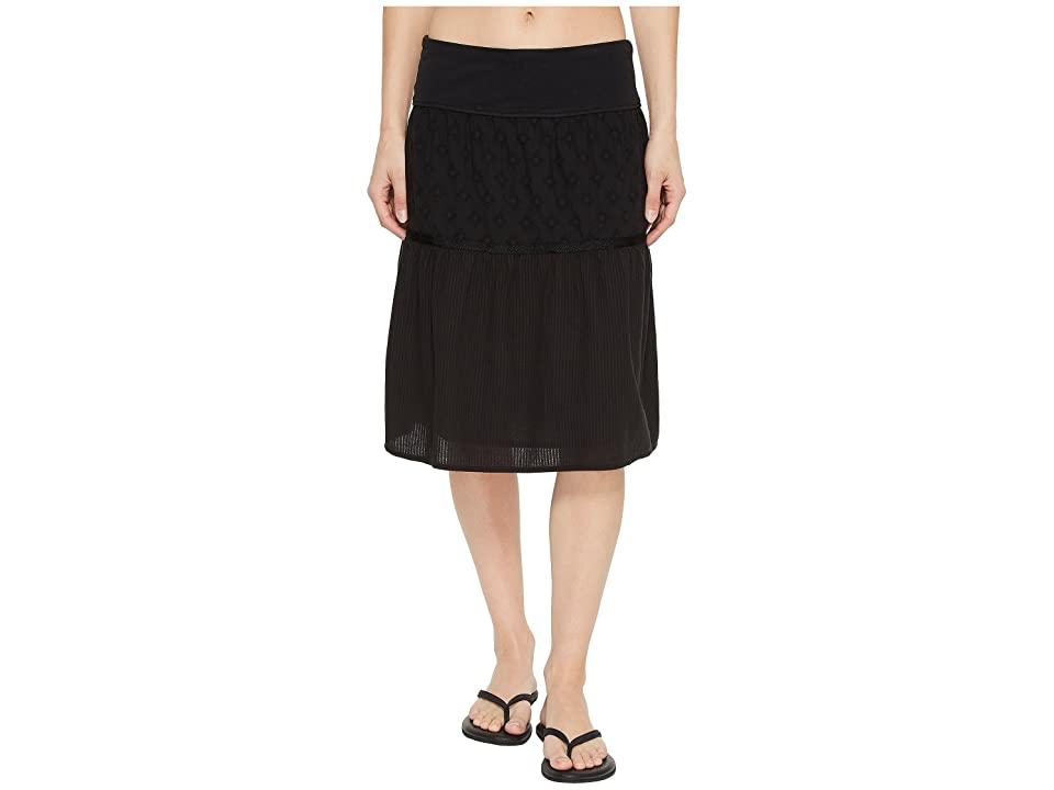 Prana Taja Skirt (Black) Women
