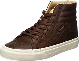Vans Mens Leather Sk8-hi Reissue