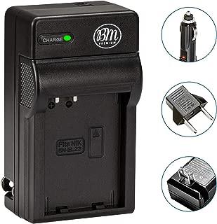 BM Premium EN-EL23 Battery Charger for Nikon Coolpix B700, P600, P610, P900, S810c Digital Camera (MH-67P Replacement)