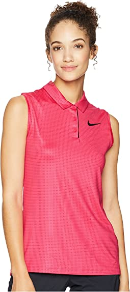 Dry Polo Sleeveless Print