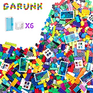 GARUNK Building Bricks 1000 Pieces Set, 1000 Pieces...