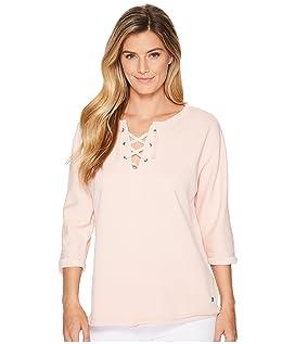 Debbie Lace-Up Shirt