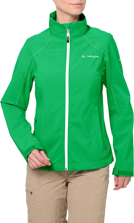 VAUDE Women's Hurricane Jacket III, Grasshopper, 40
