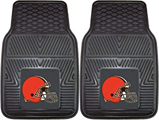 FANMATS NFL Cleveland Browns Vinyl Heavy Duty Car Mat