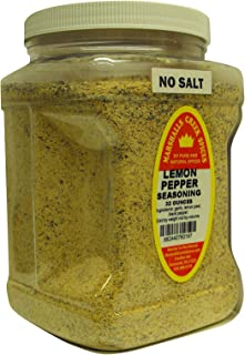 Family Size Marshalls Creek Spices Lemon Pepper No Salt Seasoning, 32 Ounce …