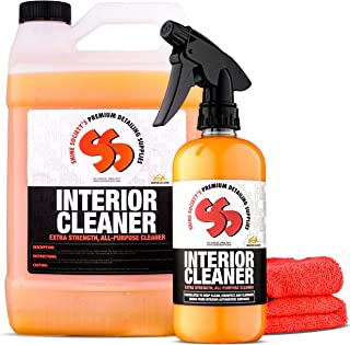 Shine Society Interior Cleaner Value Pack, Makes 9 Bottles of This Heavy Duty Cleaner and Disinfectant, 100% All-Natural and Safe for Leather and All Automotive Interior Surfaces