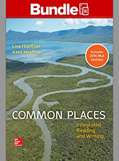 Common Places, 1e Loose-leaf MLA Update and Connect Common Places Access Card