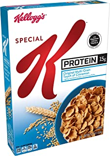 Kellogg's Special K Protein, Breakfast Cereal, Bulk Size, 125 oz (Pack of 10, 12.5 oz Boxes)