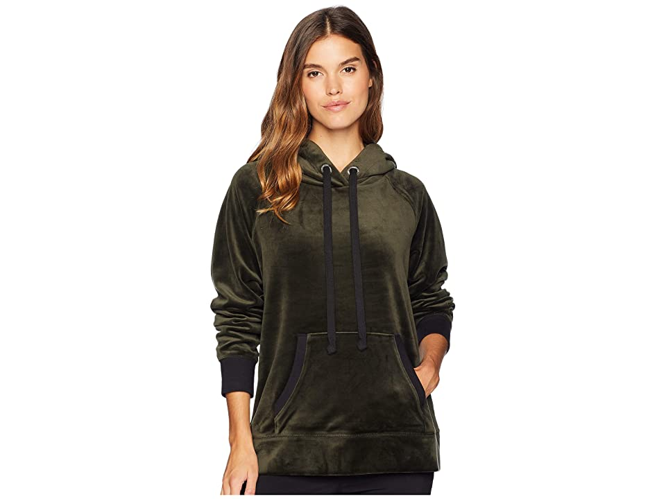 Juicy Couture Track Luxe Velour Hooded Pullover (Lost Labyrinth) Women