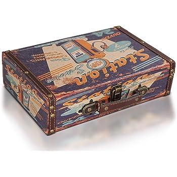 Brynnberg Caja de Madera 30x20x8cm - Cofre del Tesoro Pirata de ...