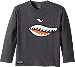 Toobydoo - Shark! Long Sleeve Tee (Infant/Toddler/Little Kids/Big Kids)