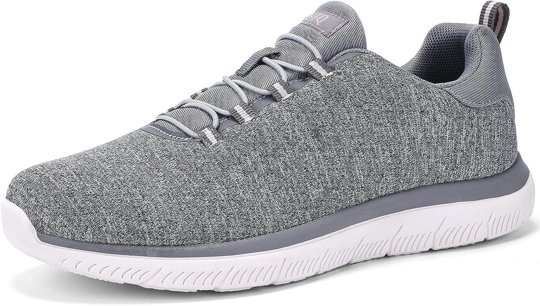 STQ Slip On Walking Shoes for Women Comfortable Tennis Sneaker w
