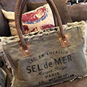 Amazon Com Myra Bags Sel De Mer Upcycled Canvas Hand Bag S 1046 Clothing Find bags for every occasion including clutches, beach, totes, crossbody and weekender. myra bags sel de mer upcycled canvas hand bag s 1046
