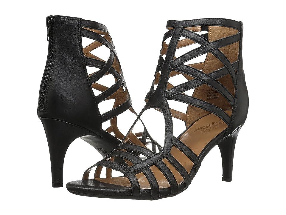 Aerosoles Acclamation (Black Leather) High Heels