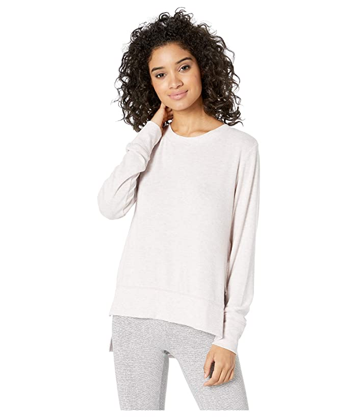 ALO Glimpse Long Sleeve Top (Lavendar Cloud Heather) Women