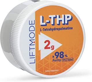 LiftMode L-Tetrahydropalmatine (L-THP) Powder Supplement - Anti-Inflammatory, Pain Relief, Healthy Heart & Liver, Corydali...