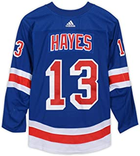 Kevin Hayes New York Rangers Game-Used #13 Blue Set 3 Jersey from the 2018-19 NHL Season - Size 58 - Fanatics Authentic Certified