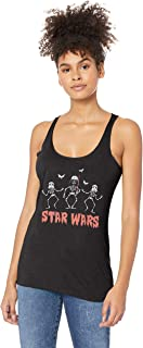 Star Wars Women's Halloween Creep Wars Junior's Racerback Tank