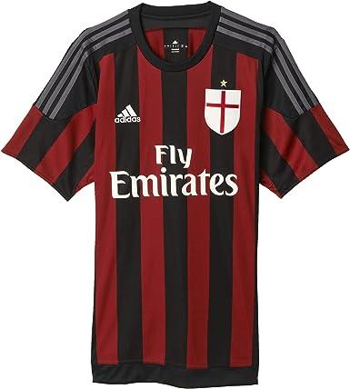 adidas Mens Ac Milan 15/16 Home Jersey