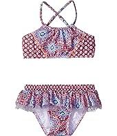 Bohemian Jardin Apron Tankini (Infant/Toddler/Little Kids)