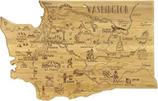 Totally Bamboo State Destination Bamboo Serving and Cutting Board Washington 20-8079