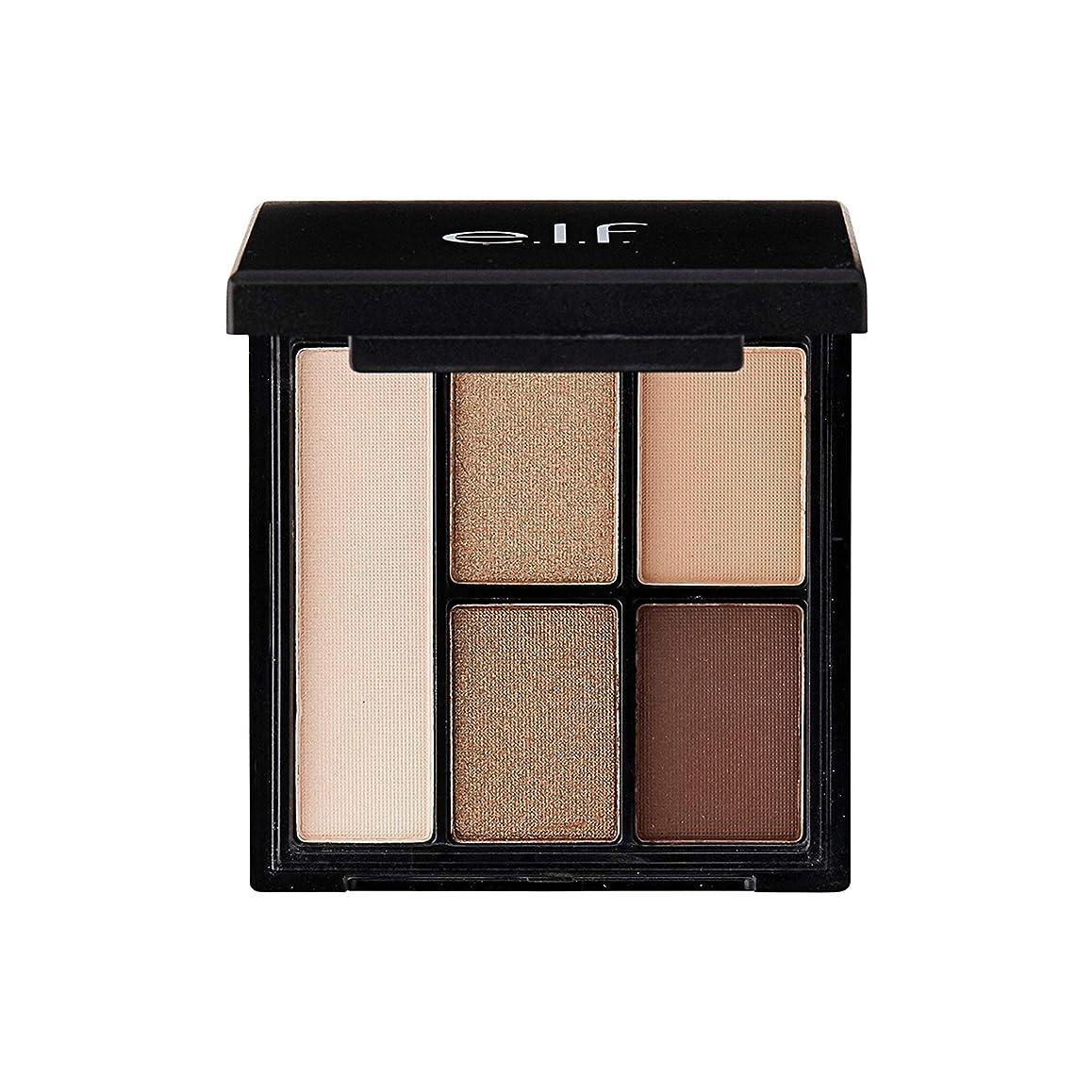 壮大な注意制限するe.l.f. Clay Eyeshadow Palette Nearly Nudes (並行輸入品)