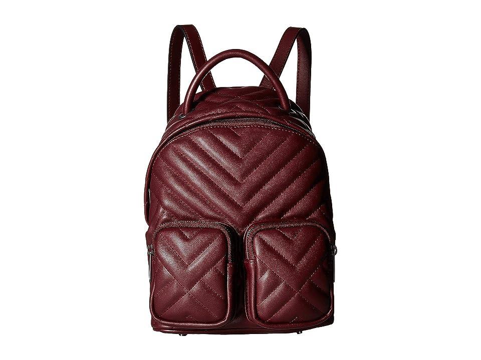 Sam Edelman Keely Backpack (Wine) Backpack Bags