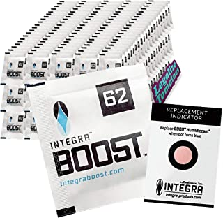 Integra Boost 8g Gram Humidity Control Pack 62% 300 Pack - Includes Free Legalize Tomatoes Sticker