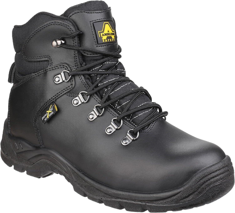 Amblers Safety Mens AS335 Pgoldn XRD Internal Metatarsal Safety Boot Black Size UK 12 EU 47