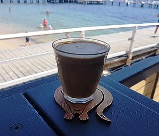Kangaroo Australian Gift & Koala Australian Gift Coasters, Australian Coasters, Australian Gifts, Animal Coasters, Animal Coasters for Drinks, Wood Coasters for Drinks, Wooden Animal Coasters