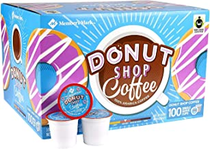 2 Pack Donut Shop Coffee (100 single-serve cups) Net wt 38.8 oz, Donut Shop Coffee, 38.8.