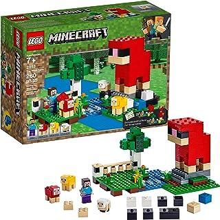 LEGO Minecraft The Wool Farm 21153 Building Kit (260 Pieces)