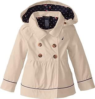 Nautica Girls' Belted Trench Coat