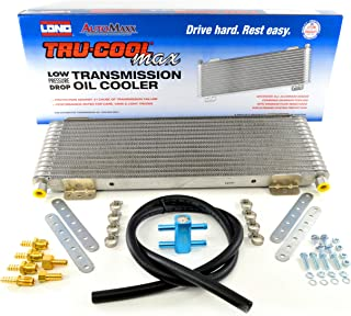 Tru-Cool Max LPD4739 4739 40,000 GVW Low Pressure Drop Transmission Oil Cooler with Thermal Bypass