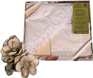 Christening Bonnet to Trousseau Hankie - Narrow Lace,White,One Size