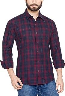 GLOBALRANG Global Rang Men's Cotton Printed Casual Shirt