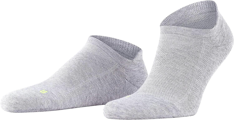 FALKE Unisex-Adult Cool Kick Sneaker Socks Breathable Quick Dry Black Blue Grey Red White 1 Pair