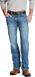 ARIAT Men's Rebar M5 Slim Fit Straight Legjean
