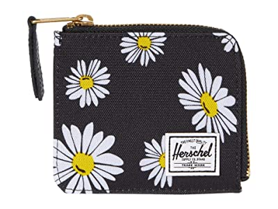 Herschel Supply Co. Jack RFID (Daisy Black) Wallet Handbags