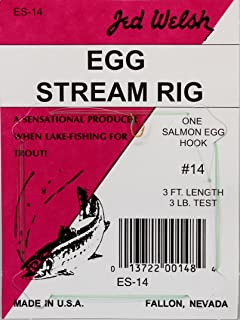 Jed Welsh Fishing Salmon Egg Stream Rig Hook