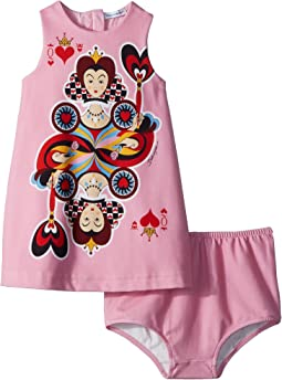 Dolce & Gabbana Kids - Queen of Hearts Dress (Infant)