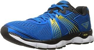 361° Men's Shield-M Running Shoe, Blue/Black/Yellow, 11.5 M US