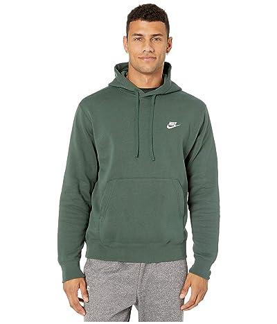 Nike NSW Club Hoodie Pullover (Galactic Jade/Galactic Jade/White) Men
