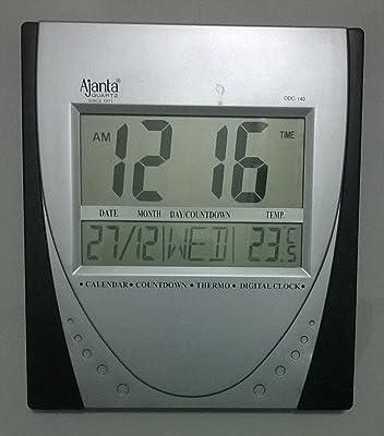 Ajanta Quartz LED Clock (ODC-140)