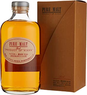 Nikka Pure Malt Red Whisky 1 x 0.5 l