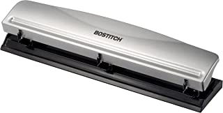 Bostitch Office HP12 3 Hole Punch, 12 Sheet Capacity, Metal