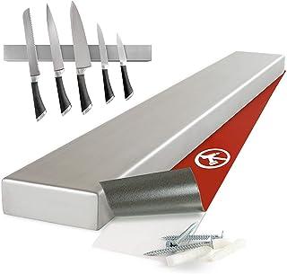 Moritz & Moritz - Porte Couteau Magnetique 40cm - Barre Aimantée Porte Couteaux - Ranger les Couteaux Ustensiles de Cuisin...
